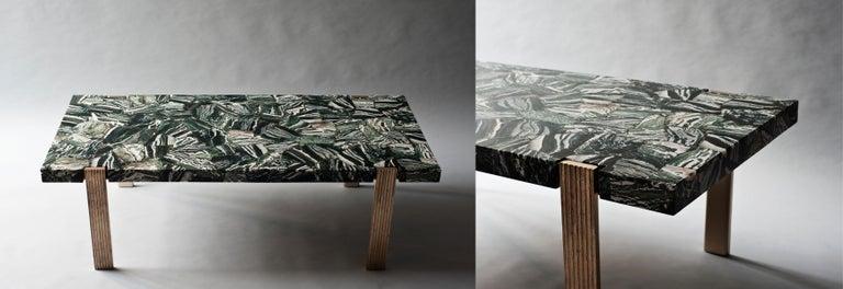 Modern Capital Coffee Table by DeMuro Das  For Sale