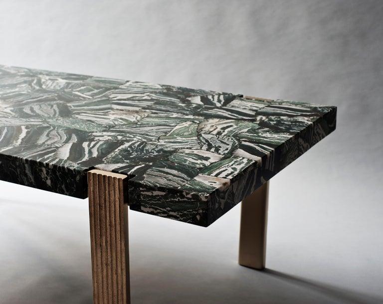 American Capital Coffee Table by DeMuro Das  For Sale