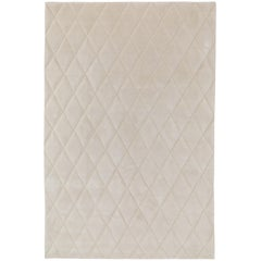 Capitone Hand-Knotted 6x4 Floor Rug in Wool by Jaime Hayon