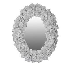 Capodimonte Ceramic Mirror