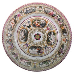 Capodimonte Porcelain Charger