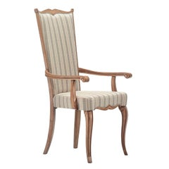 Capotavola Champagne Chair with Armrests