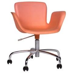 Cappellini Plastic Armchair Orange Apricot Chair Polypropylene