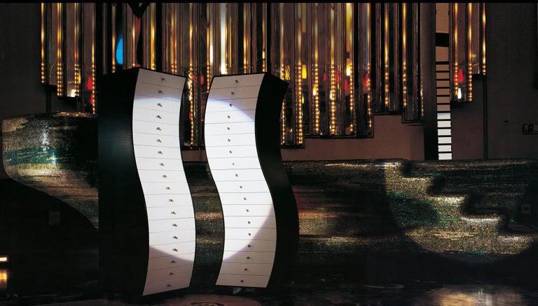 Modern Shiro Kuramata Progetti Compiuti, Side 1 Cabinet in Ashwood for Cappellini For Sale