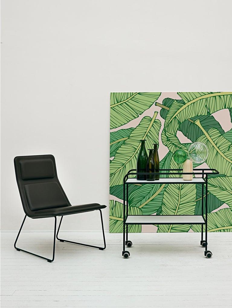 Modern Jasper Morrison Set of 3 Green Bottle Vase in Glass for Cappellini For Sale
