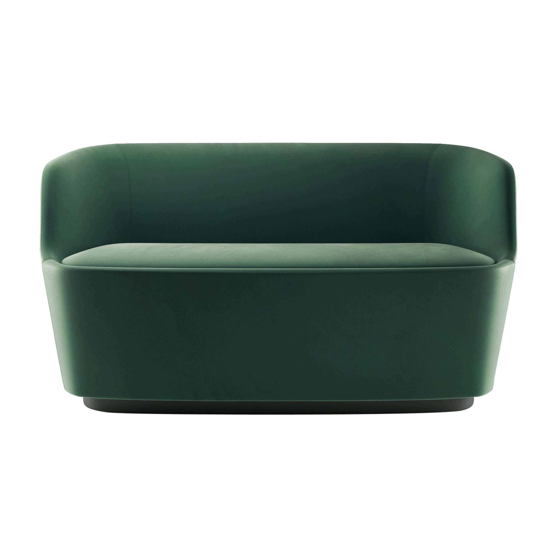 Cappellini Small Orla Sofa in Foam Seat with Metal Frame by Jasper Morrison