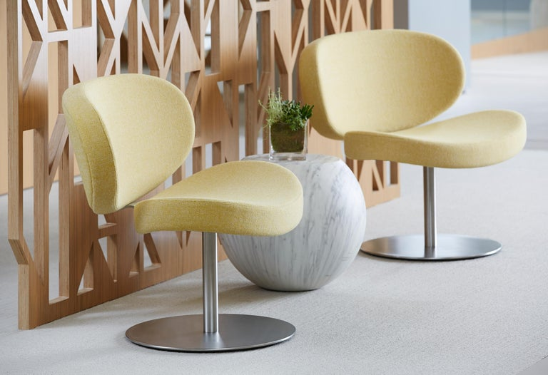 Modern Cappellini Sunset Armchair in Beech with Fabric or Leather by Christophe Pillet For Sale