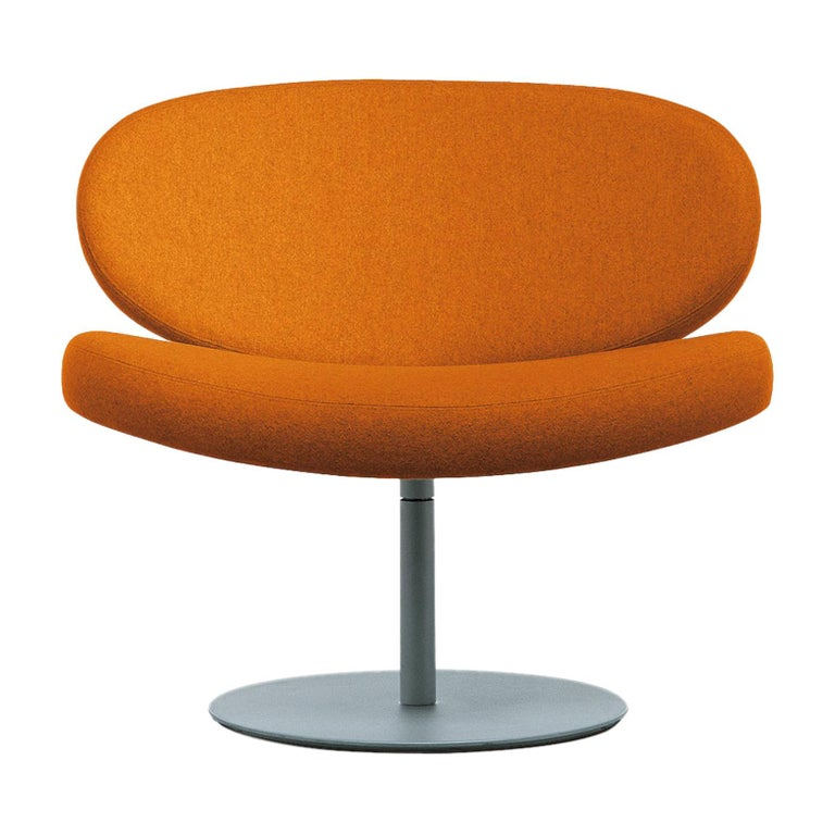 For Sale: Orange (Hallingdal 2 561) Cappellini Sunset Armchair in Beech with Fabric or Leather by Christophe Pillet