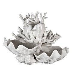 Capri Ceramic Caviar Server