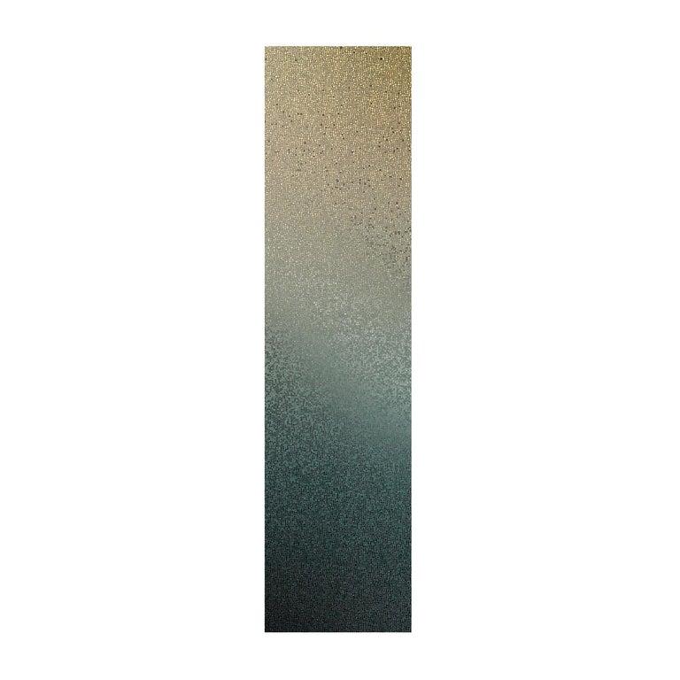 Capri Silver Mosaic Nuances Panel by Mutaforma For Sale