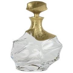 Capriccio Onda Transparent and Gold Bottle