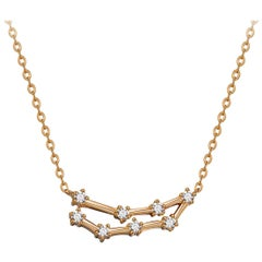 Capricorn Constellation Necklace