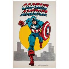 """Captain America"", 1974 Vintage US Poster"