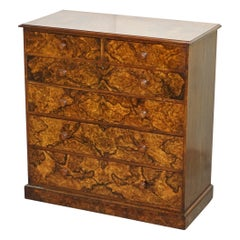 Captain / Sir C Pigott 1881 Howard & Son's Military Campaign Chest of Drawers