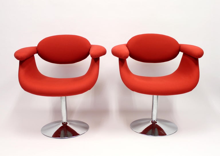 Space Age Captains Chairs by Eero Aarnio for Asko, 1960s, Set of Two For Sale