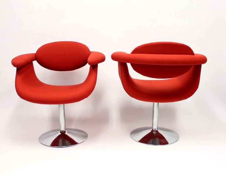 Finnish Captains Chairs by Eero Aarnio for Asko, 1960s, Set of Two For Sale