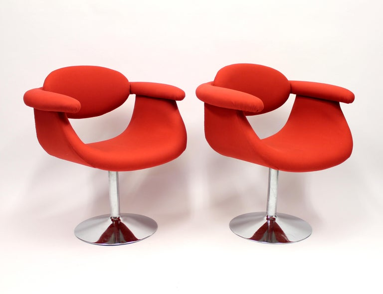 Captains Chairs by Eero Aarnio for Asko, 1960s, Set of Two In Good Condition For Sale In Uppsala, SE
