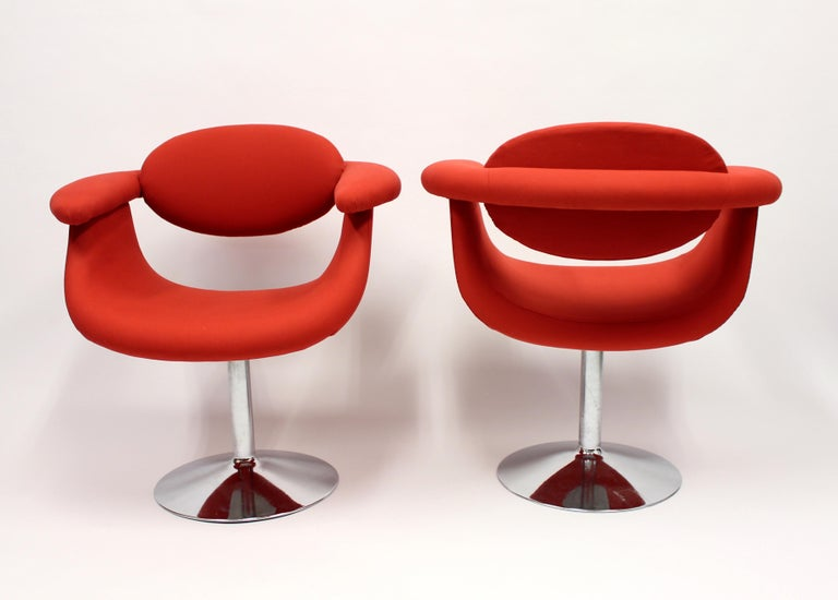Mid-20th Century Captains Chairs by Eero Aarnio for Asko, 1960s, Set of Two For Sale