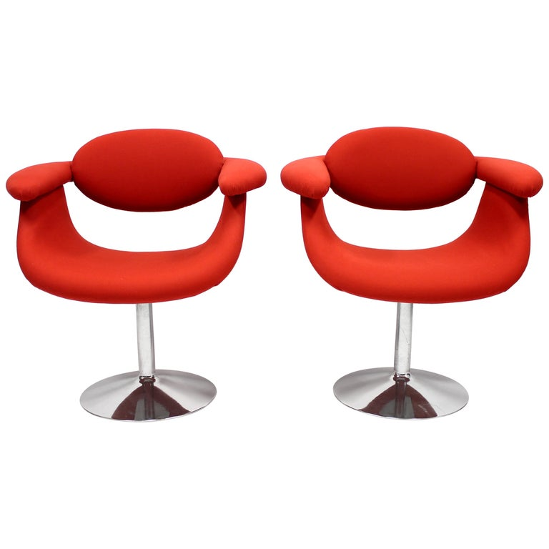 Captains Chairs by Eero Aarnio for Asko, 1960s, Set of Two For Sale