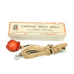 Captive Golf Ball Training Aid