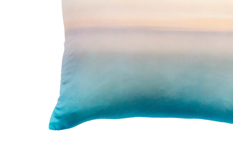 Modern Capuccino Silk Pillow For Sale