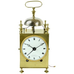 """Capucine"" French Officer's Clock, circa 1800 by Waltrin"