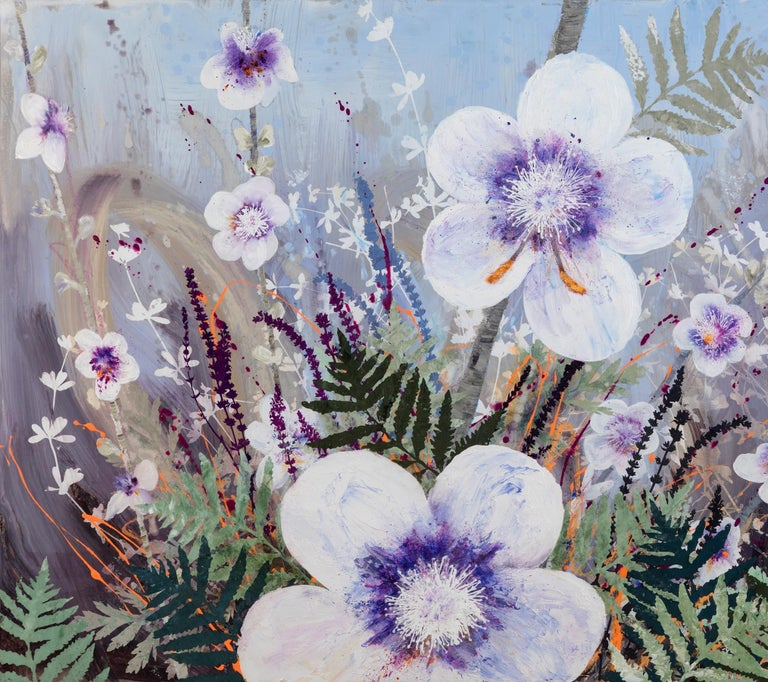 Invasive Beauties - Painting by Cara Enteles