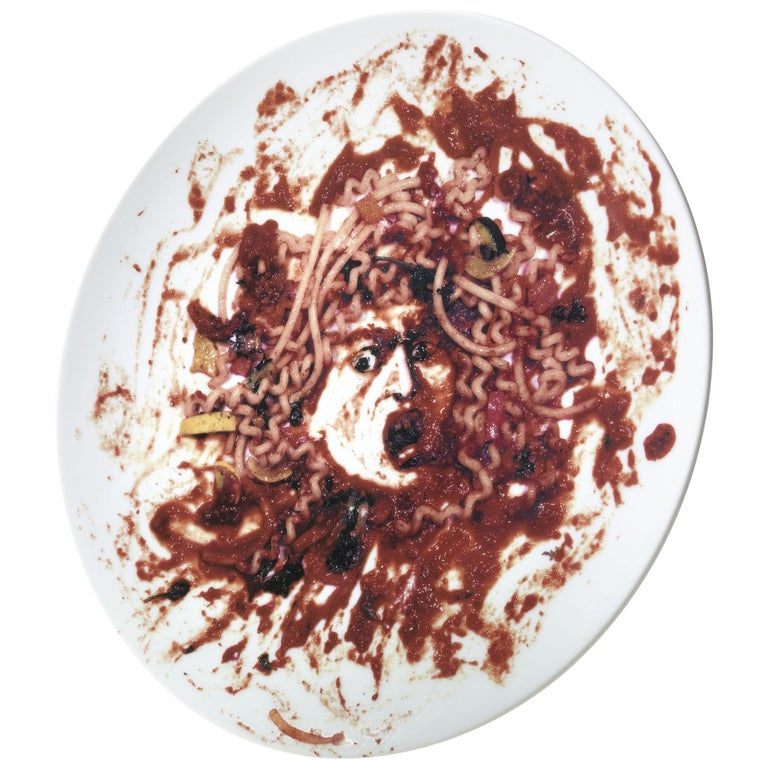 Caravaggio's Medusa 'Medusa Marinara' by Vik Muniz For Sale