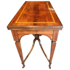 Card Table / Games Table, Rosewood, English, circa 1890s