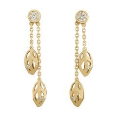 Caresse d'Orchidées Diamond Earrings by Cartier