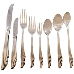 Caribbean by Wallace Sterling Silver Flatware Set for 8 Service 70 Pieces