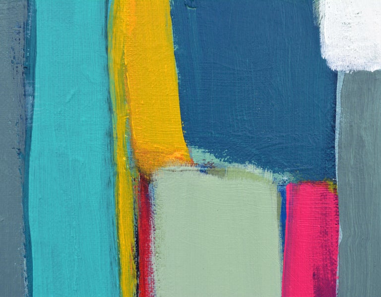'Caribbean Composition' Original Abstract Painting by Lars Hegelund 2