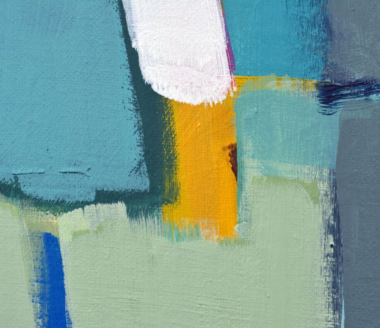 'Caribbean Composition' Original Abstract Painting by Lars Hegelund 3