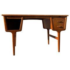 Carl Aage Skov, Danish Midcentury Writing Table, 1950s