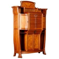 Carl Albert Angst Art Nouveau Buffet
