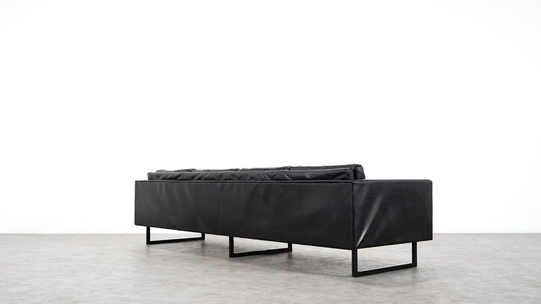 carl aub ck cubus sofa extremely rare three seat by cor germany circa 1960 at 1stdibs. Black Bedroom Furniture Sets. Home Design Ideas