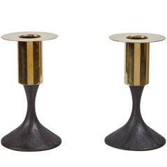 Carl Auböck #7234 Brass Candleholder