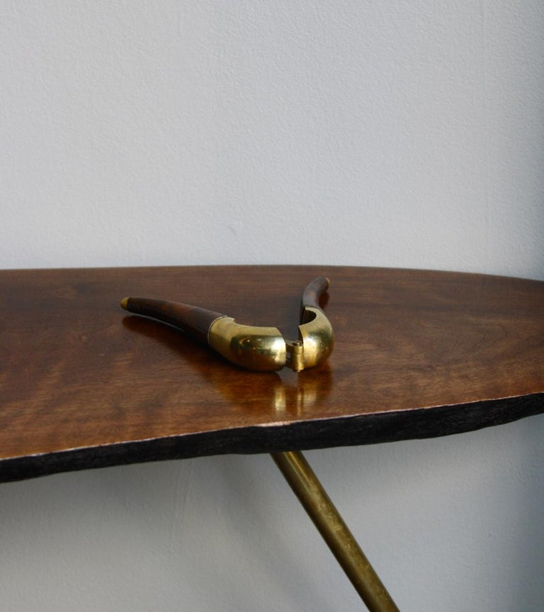 Carl Auböck Brass and Leather Nutcracker For Sale 5