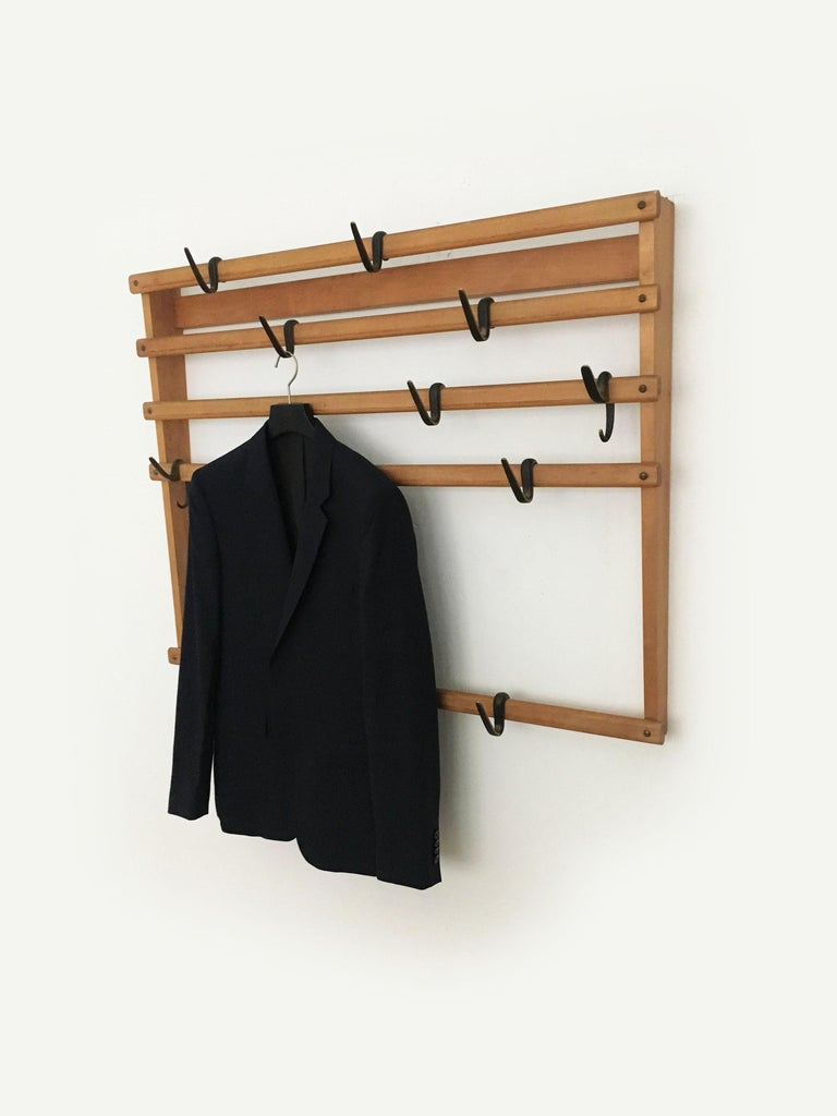 Carl Auböck Coat Rack Wardrobe, Austria, 1950s 4