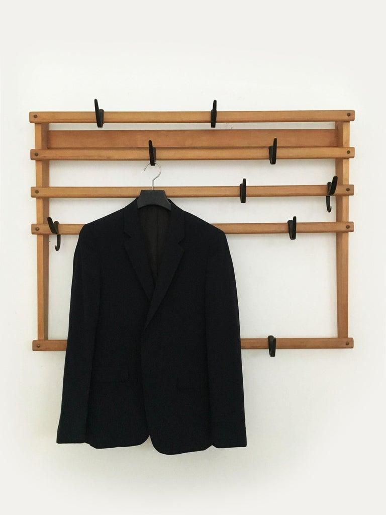 Carl Auböck Coat Rack Wardrobe, Austria, 1950s 1