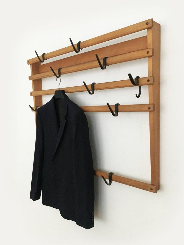 Carl Auböck Coat Rack Wardrobe, Austria, 1950s 2