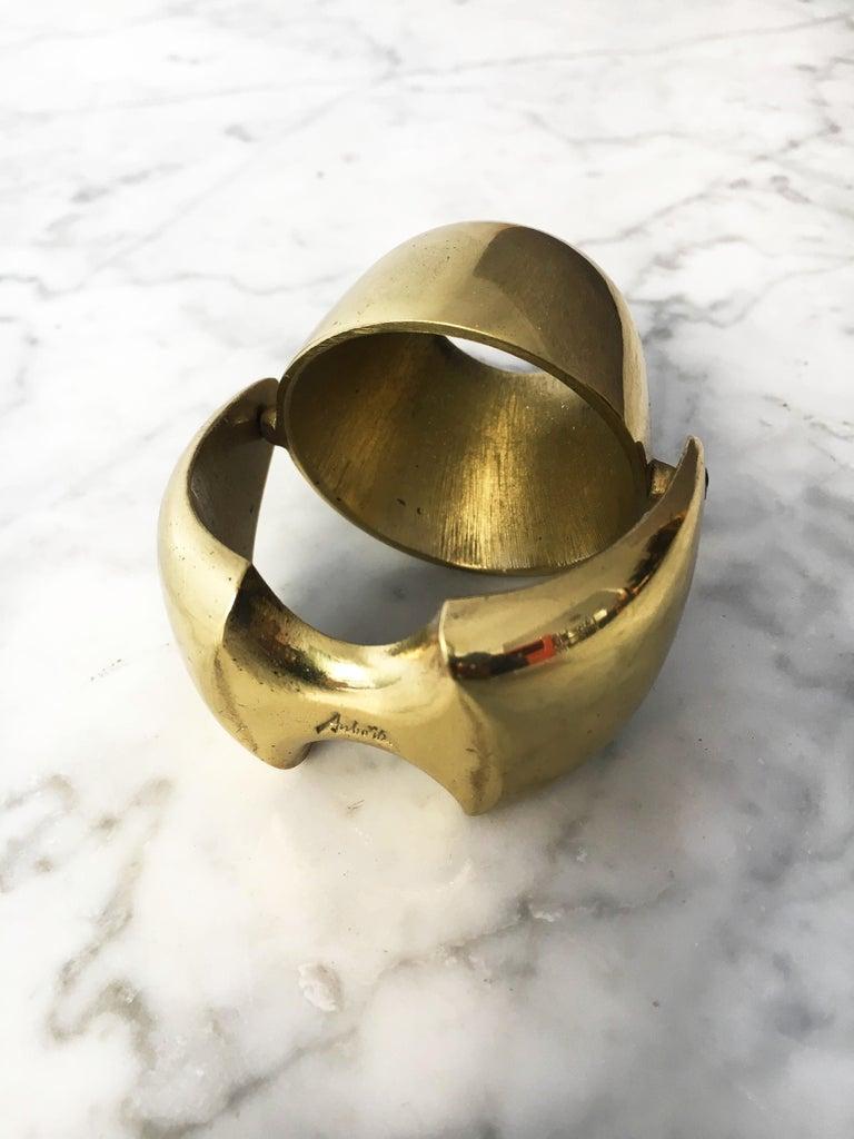 Mid-Century Modern Carl Auböck Egg Cup, Austria, 1950s For Sale