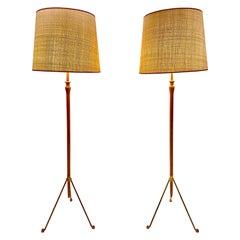 Carl Auböck III Floor Lamp Austria, 1950s-1960s