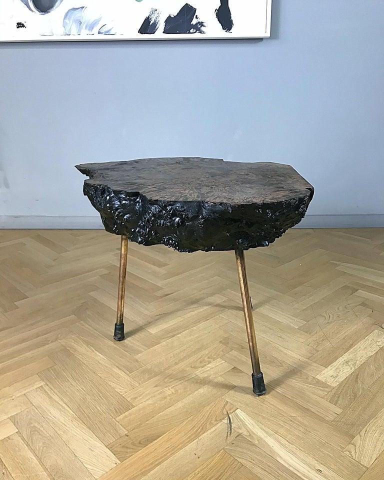 Mid-Century Modern Carl Auböck Large Midcentury Tree Trunk Table, 1950s, Austria For Sale