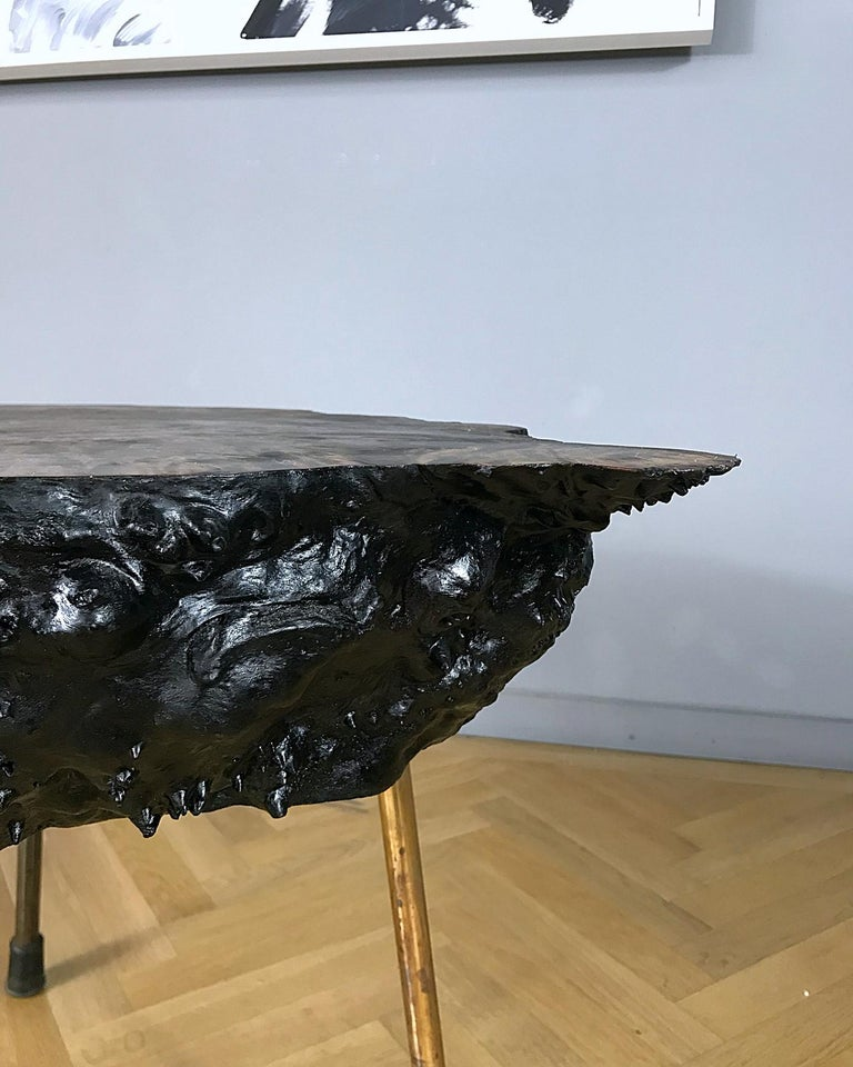 Hand-Crafted Carl Auböck Large Midcentury Tree Trunk Table, 1950s, Austria For Sale