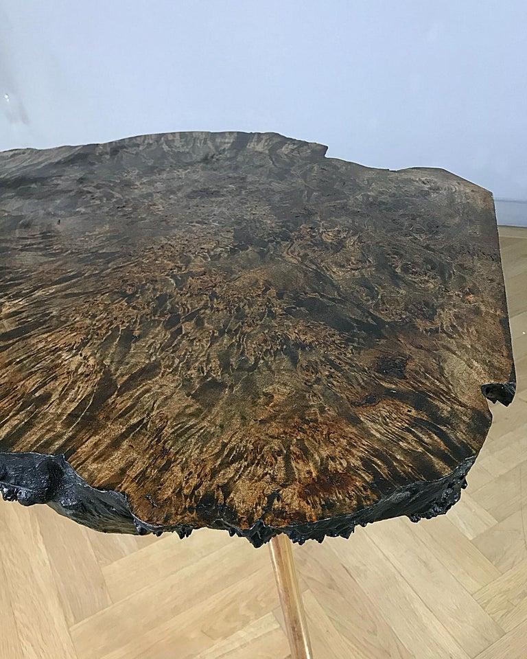 Carl Auböck Large Midcentury Tree Trunk Table, 1950s, Austria For Sale 1