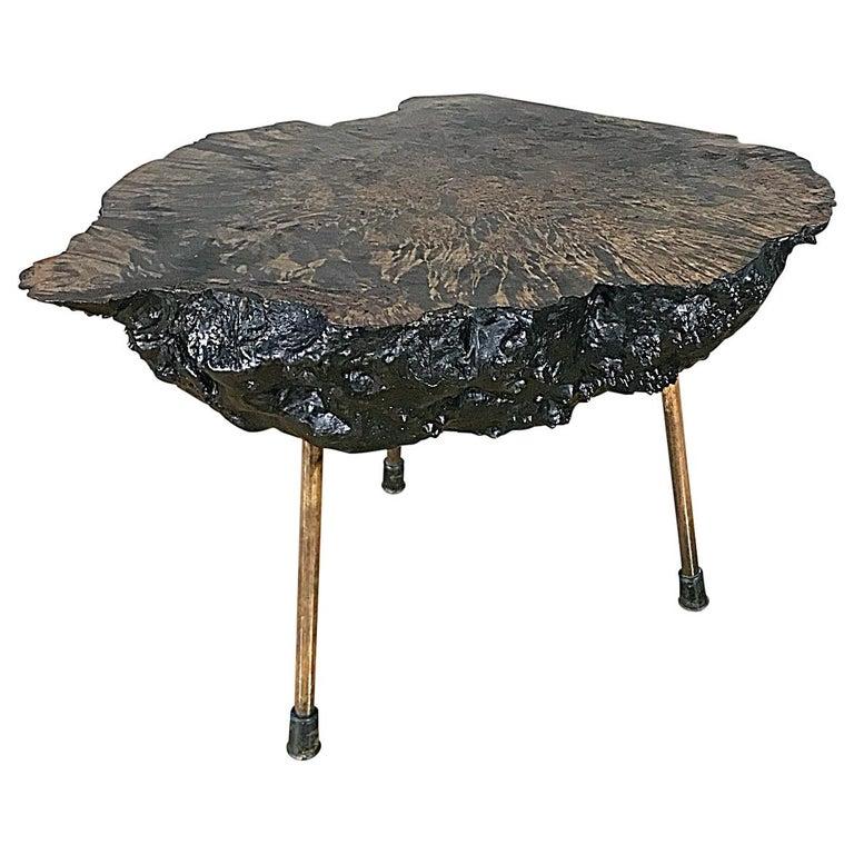 Carl Auböck Large Midcentury Tree Trunk Table, 1950s, Austria For Sale
