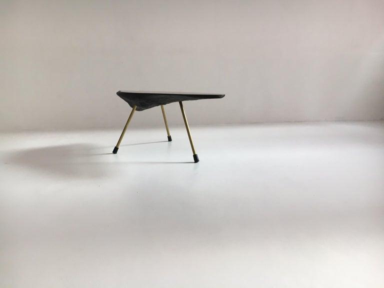 Carl Auböck Substantial Live Edge Tree Trunk Table, Austria, 1950s For Sale 5