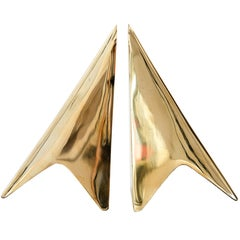 Carl Auböck Model #3846 Brass Bookends