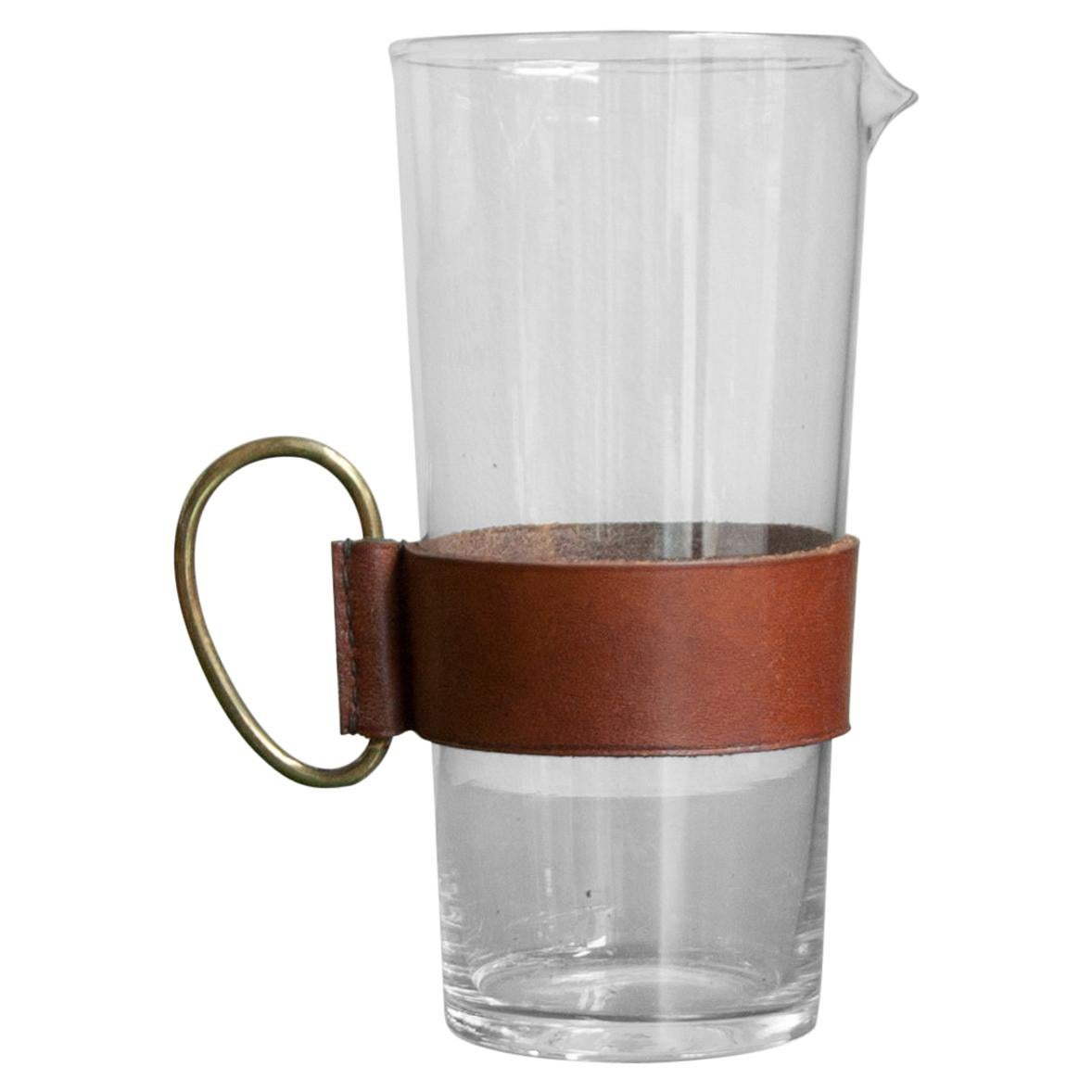Carl Auböck Pitcher with Brass Handle